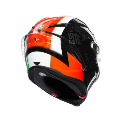 AGV prilba CORSA R Balda 2016 black/white/red/green
