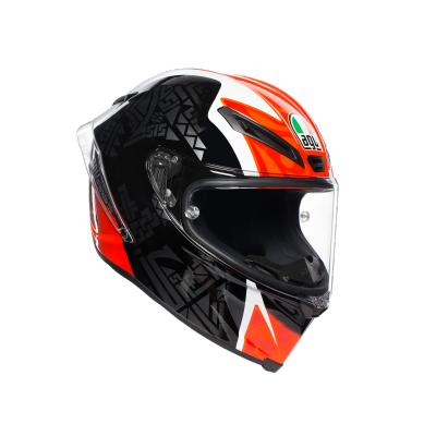 AGV přilba CORSA R Balda 2016 black/white/red/green