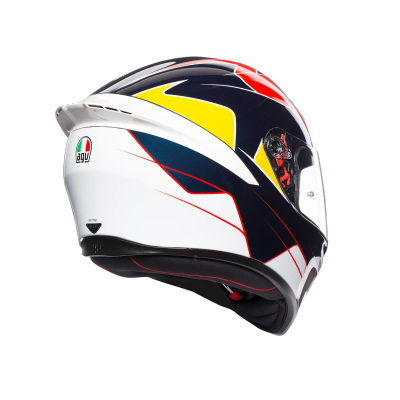 AGV prilba K-1 Pitlane blue/red/yellow