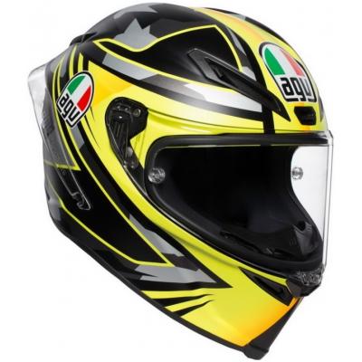 AGV prilba CORSA R Mir Winter test black/yellow