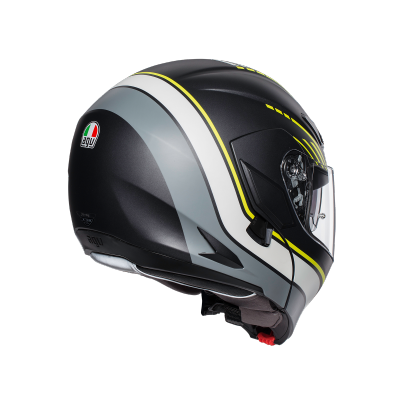AGV prilba COMPACT ST Boston matt black
