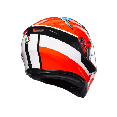 AGV prilba K-3 SV Attack red/white/black