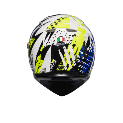 AGV prilba K-3 SV Pop blue/white/yellow