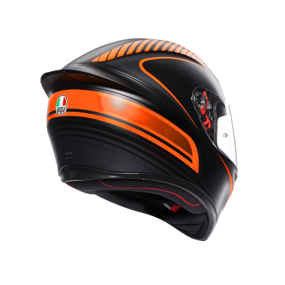 AGV prilba K-1 Warmup orange