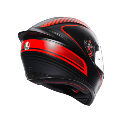 AGV prilba K-1 Warmup red