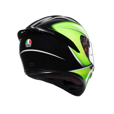 AGV prilba K-1 qualify yellow