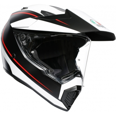 AGV prilba AX9 Pacific Road black/matt white