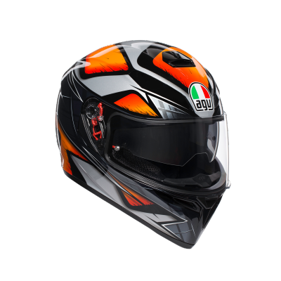 AGV prilba K-3 SV Liquefy orange