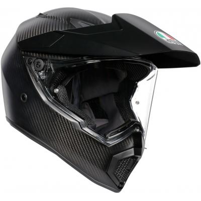 AGV přilba AX9 matt carbon