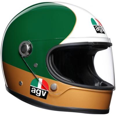 AGV prilba X3000 LEGENDS AGO 1 green / red