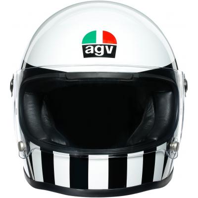 AGV prilba X3000 LEGENDS Invictus white / black
