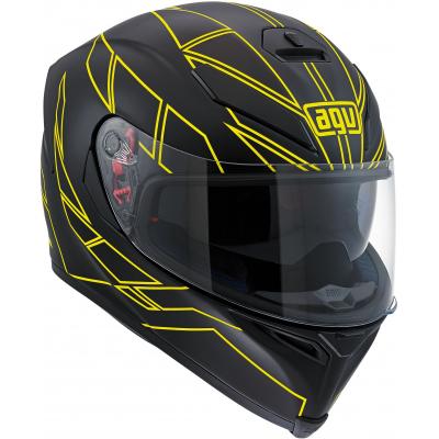 AGV přilba K-5 S Hero black/yellow fluo