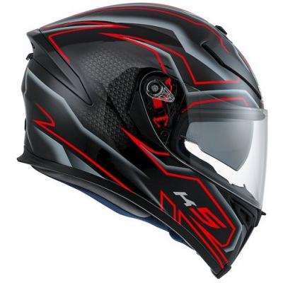 AGV přilba K-5 S Deep black/white/red