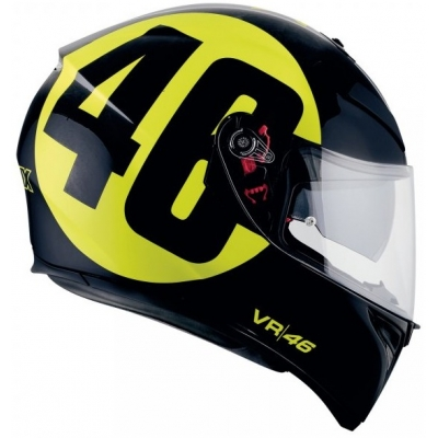 AGV přilba K-3 SV Bollo 46 black/yellow