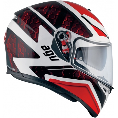 AGV přilba K-3 SV Pulse white/black/red
