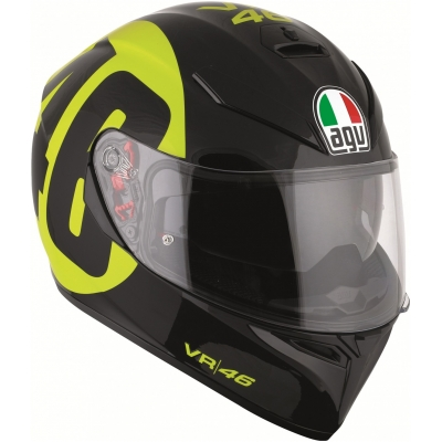 AGV prilba K-3 SV Bollo 46 black / yellow