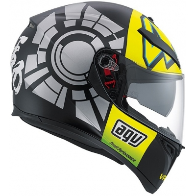 AGV prilba K-3 SV Winter Test 2012