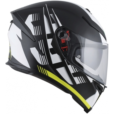 AGV přilba K-5 S Darkstorm matt black/yellow