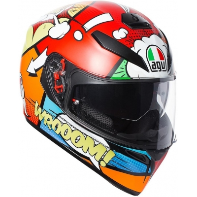 AGV přilba K-3 SV BALLOON red/orange