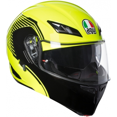AGV přilba COMPACT ST Vermont yellow fluo/black