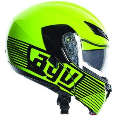 AGV přilba COMPACT Audax yellow/gunmetal