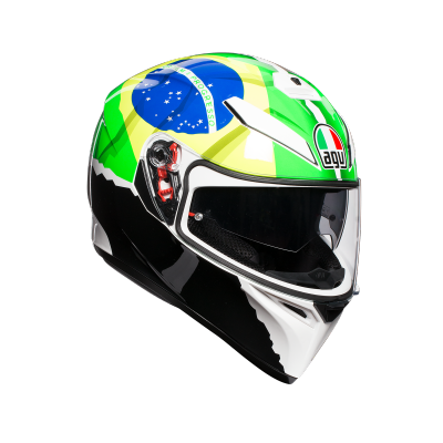 AGV přilba K-3 SV MORBIDELLI 2017 Replica yellow/green
