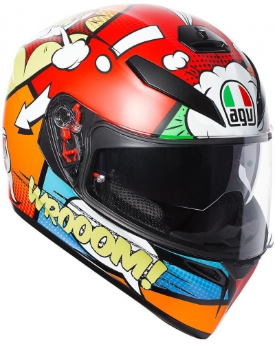 AGV prilba K-3 SV BALLOON red / orange