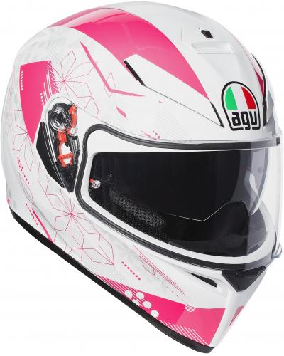 AGV přilba K-3 SV IZUMI white/pink