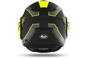 AIROH přilba REV 19 Ikon matt black/fluo yellow