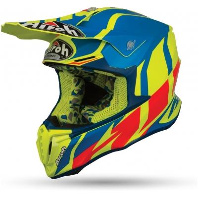 AIROH prilba TWIST Great yellow / blue / red