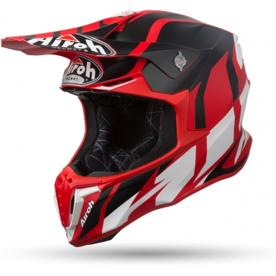 AIROH prilba TWIST Great red/black/white