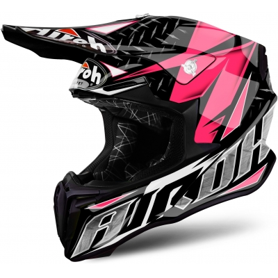 AIROH přilba TWIST Iron black/pink