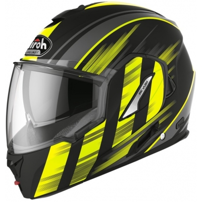 AIROH prilba REV19 Ikon matt black / fluo yellow
