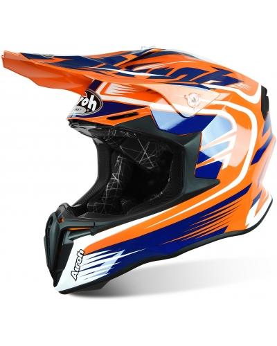 AIROH přilba TWIST Mix orange/blue/white