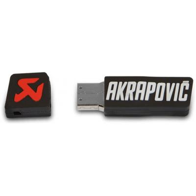 AKRAPOVIČ klíčenka USB 16GB black