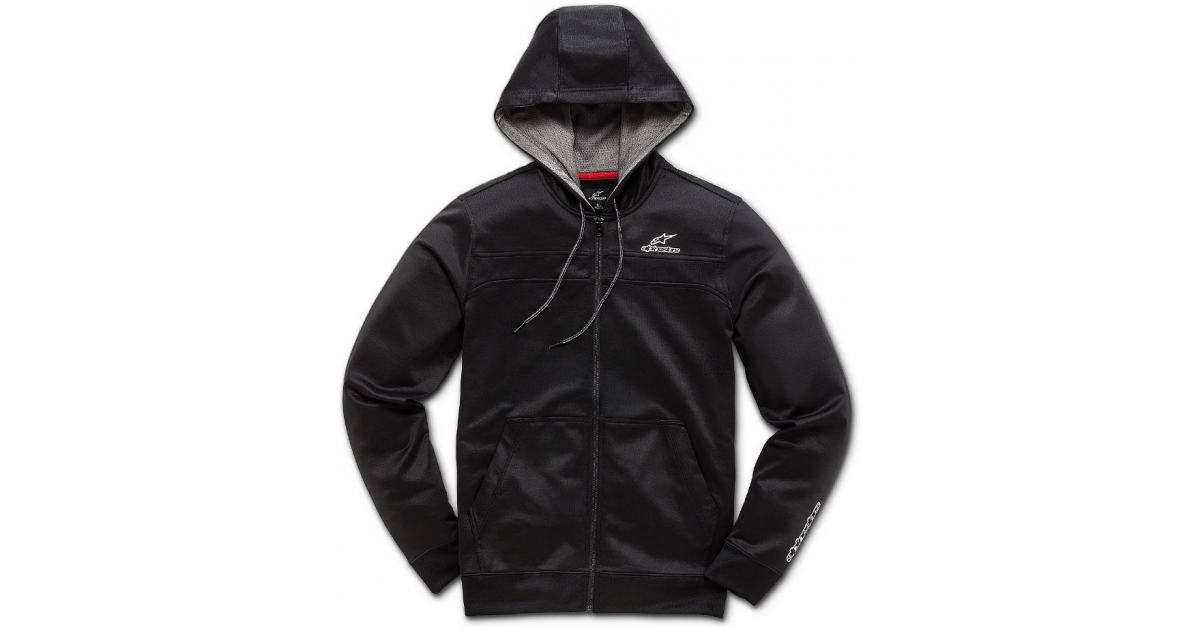 ALPINESTARS mikina FREERIDE FLEECE black  4bab573cc7e