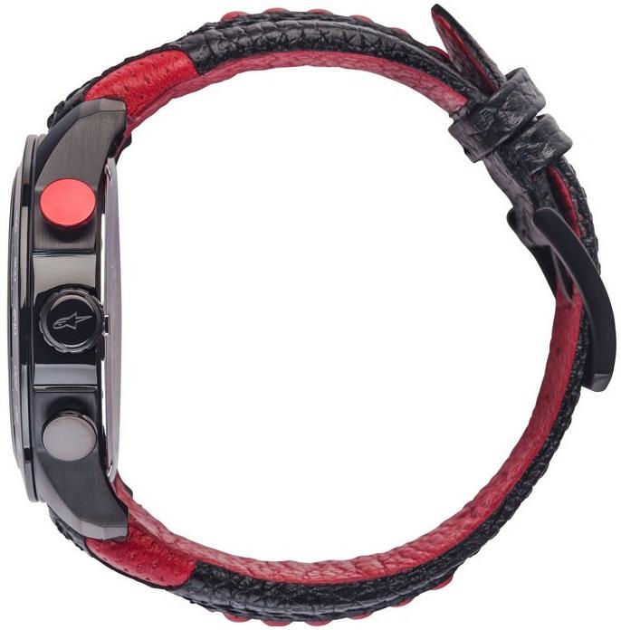 ebdb004c0 ALPINESTARS hodinky TECH CHRONO leather/black/red | BONMOTO