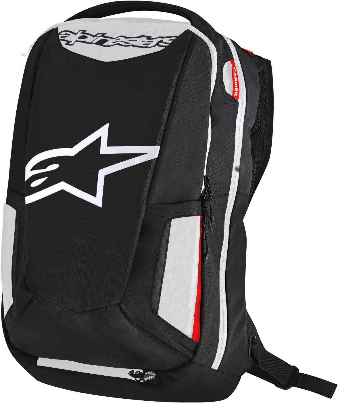 0dd68f41a04 ALPINESTARS batoh CITY HUNTER black white red