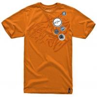 ALPINESTARS triko BADGES orange