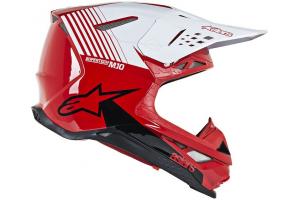 ALPINESTARS přilba SUPERTECH M10 Dyno red/white