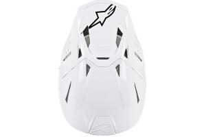 ALPINESTARS přilba SUPERTECH M8 Solid glossy white
