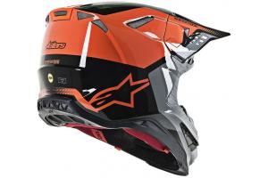 ALPINESTARS přilba SUPERTECH M8 Triple orange/mid grey/black