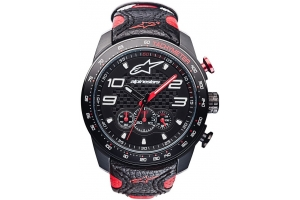 ALPINESTARS hodinky TECH CHRONO leather/black/red