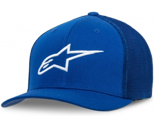 ALPINESTARS kšiltovka AGELESS STRETCH royal/white