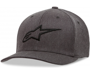 ALPINESTARS kšiltovka AGELESS charcoal heather/black