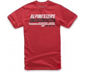 ALPINESTARS triko BRAVO red