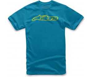 ALPINESTARS triko BLAZE torquoise / hi vis yellow