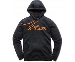 ALPINESTARS mikina BLAZE charcoal heather/orange