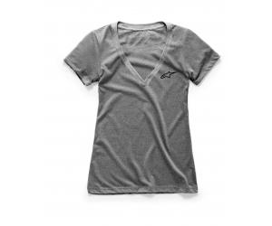 ALPINESTARS tričko AGELESS VNECK dámske grey heather