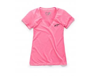 ALPINESTARS tričko AGELESS VNECK dámske pink
